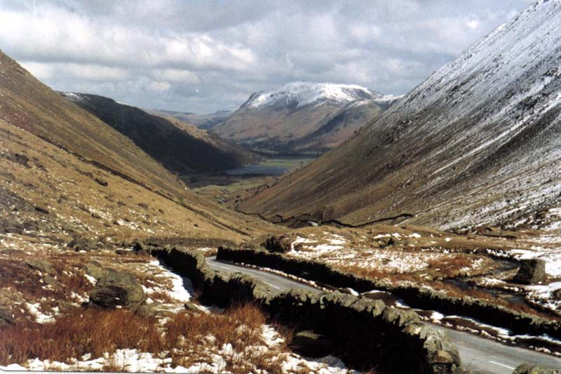 Kirkstone Pass - Looking Towards Ulswater and Patterdale